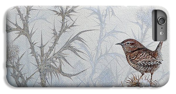 Wren iPhone 6s Plus Case - Winter Wren by Mike Stinnett