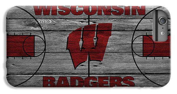 Wisconsin Badger IPhone 6s Plus Case by Joe Hamilton