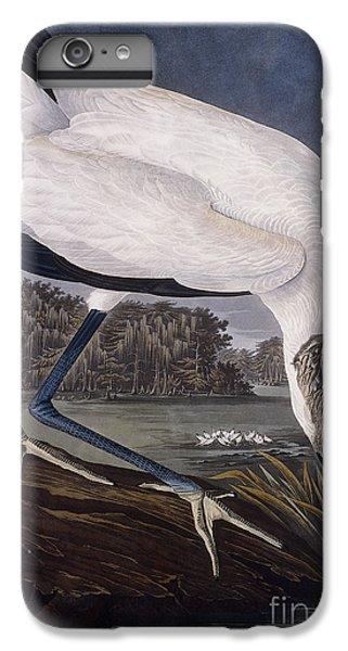 Ibis iPhone 6s Plus Case - Wood Ibis by John James Audubon