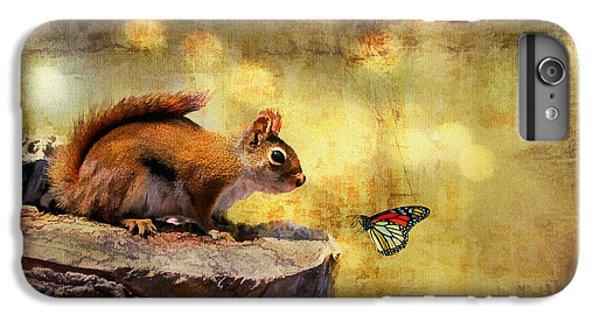 Squirrel iPhone 6s Plus Case - Woodland Wonder by Lois Bryan