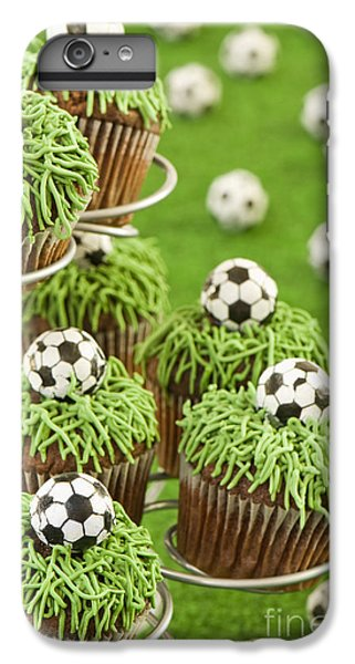Fairy Cake iPhone 6s Plus Case - World Cup Cupcakes by Amanda Elwell