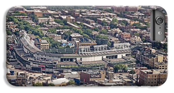 Wrigley Field iPhone 6s Plus Case - Wrigley Field - Home Of The Chicago Cubs by Adam Romanowicz