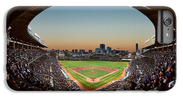 Wrigley Field iPhone 6s Plus Case - Wrigley Field Night Game Chicago by Steve Gadomski