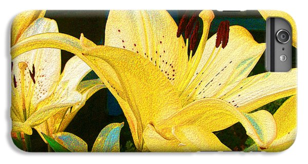 Yellow Lilies IPhone 6s Plus Case