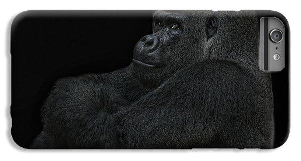 Gorilla iPhone 6s Plus Case - yes I m the great pretender by Joachim G Pinkawa