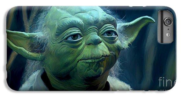 Star iPhone 6s Plus Case - Yoda by Paul Tagliamonte