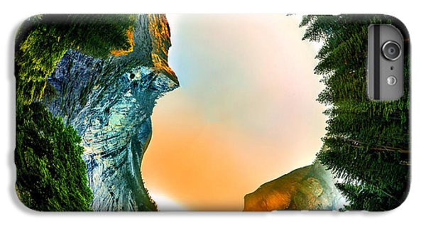 Yosemite National Park iPhone 6s Plus Case - Yosemite Circagraph by Az Jackson