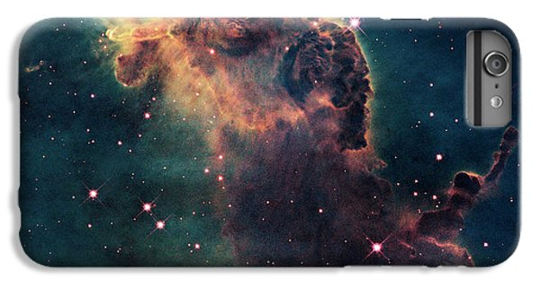 Star iPhone 6s Plus Case - Young Stars Flare In The Carina Nebula by Nasa/esa