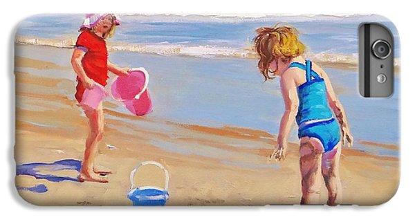 Beach iPhone 6s Plus Case - Yuck by Laura Lee Zanghetti