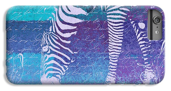 Zebra iPhone 6s Plus Case - Zebra Art - Bp02t01 by Variance Collections