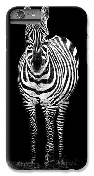 Zebra iPhone 6s Plus Case - Zebra by Paul Neville