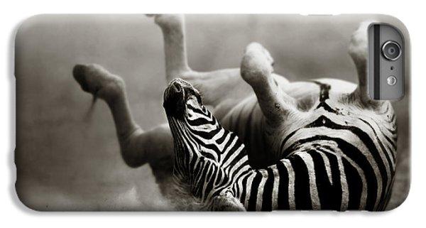 Zebra Rolling IPhone 6s Plus Case by Johan Swanepoel