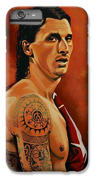 Barcelona iPhone 6s Plus Case - Zlatan Ibrahimovic Painting by Paul Meijering