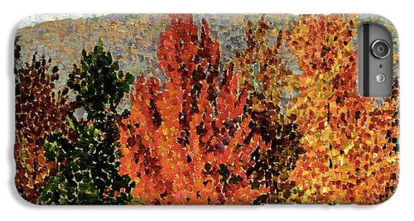 Autumn Landscape IPhone 6s Plus Case by Henri-Edmond Cross