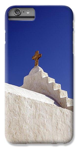 Greece iPhone 6s Plus Case - The Cross by Joana Kruse