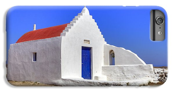 Greece iPhone 6s Plus Case - Mykonos by Joana Kruse