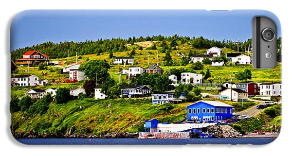 Town iPhone 6s Plus Case - Fishing Village In Newfoundland by Elena Elisseeva