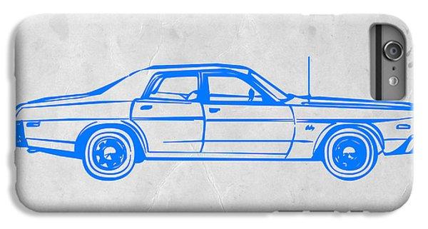 Landmarks iPhone 6s Plus Case - American Car by Naxart Studio