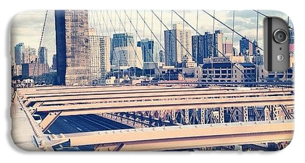 Place iPhone 6s Plus Case - Another Day On Brooklyn Bridge by Randy Lemoine