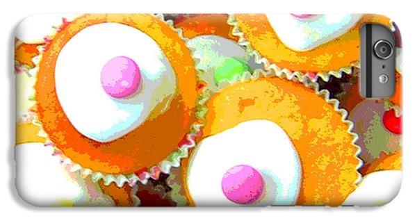 Fairy Cake iPhone 6s Plus Case - Artwork Of Fairy Cakes by David Nicholls