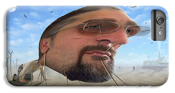 Buzzard iPhone 6s Plus Case - Awake . . A Sad Existence 2 by Mike McGlothlen