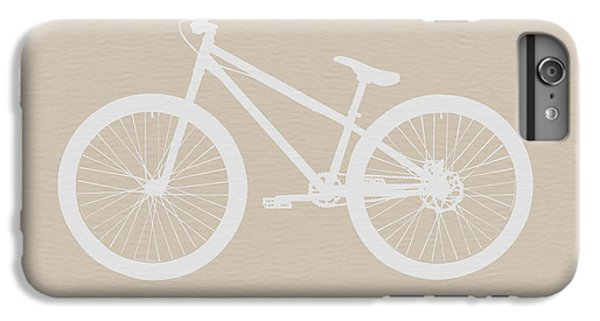 Bicycle iPhone 6s Plus Case - Bicycle Brown Poster by Naxart Studio