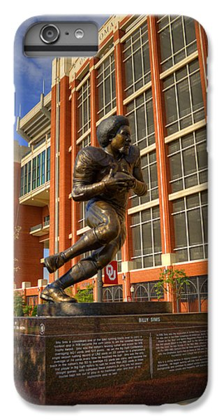 Oklahoma University iPhone 6s Plus Case - Billy Sims by Ricky Barnard