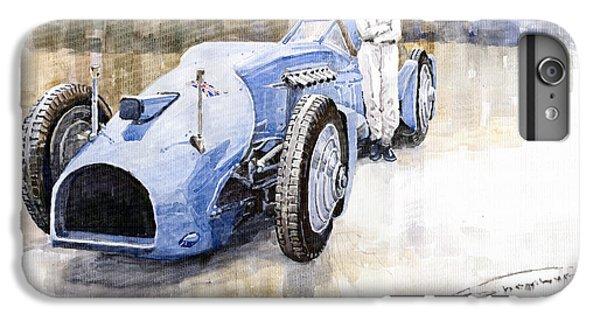 Bluebird iPhone 6s Plus Case - Bluebird 1933 Daytona Malkolm Campbell by Yuriy Shevchuk