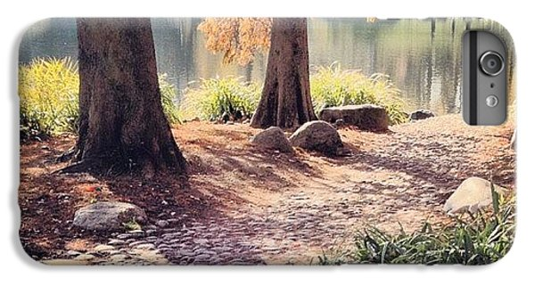 Place iPhone 6s Plus Case - Central Park Early Morning by Randy Lemoine