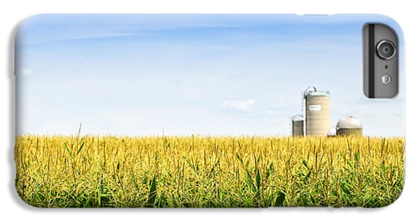 Corn Field With Silos IPhone 6s Plus Case by Elena Elisseeva