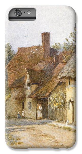 Town iPhone 6s Plus Case - East Hagbourne Berkshire by Helen Allingham