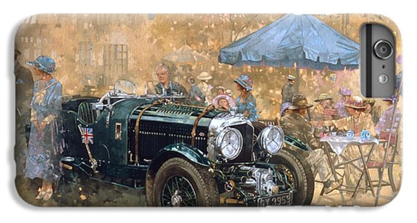 Car iPhone 6s Plus Case - Garden Party With The Bentley by Peter Miller