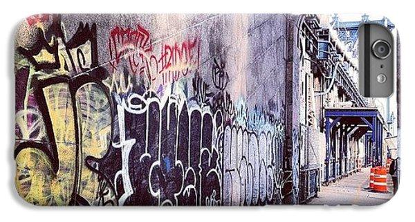 Place iPhone 6s Plus Case - Graffiti Bridge by Randy Lemoine