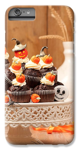 Fairy Cake iPhone 6s Plus Case - Halloween Chocolate Muffins by Amanda Elwell