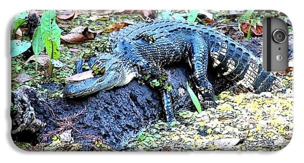 Hard Day In The Swamp - Digital Art IPhone 6s Plus Case by Carol Groenen