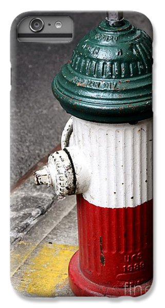 Italian Fire Hydrant IPhone 6s Plus Case by Sophie Vigneault