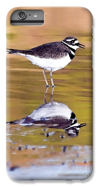 Killdeer Reflection IPhone 6s Plus Case
