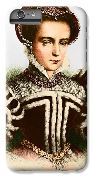 Mary I, Queen Of England And Ireland IPhone 6s Plus Case by Omikron