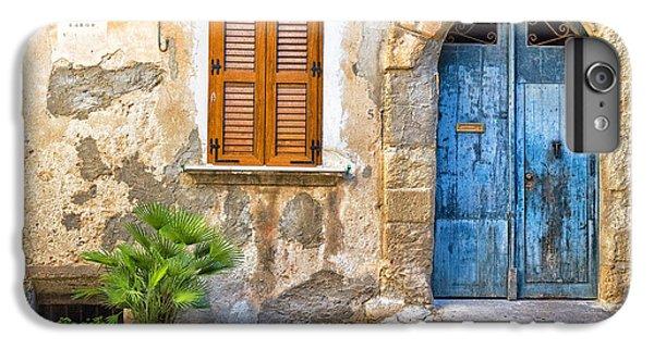 Mediterranean Door Window And Vase IPhone 6s Plus Case