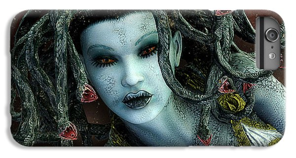 Medusa IPhone 6s Plus Case by Jutta Maria Pusl