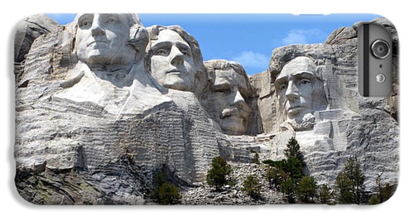 Lincoln Memorial iPhone 6s Plus Case - Mount Rushmore Usa by Olivier Le Queinec