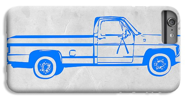 Truck iPhone 6s Plus Case - Pick Up Truck by Naxart Studio