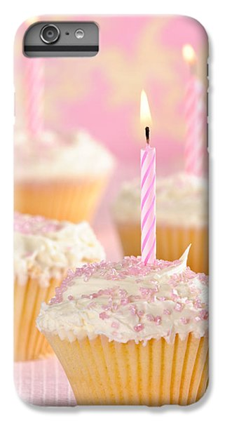 Fairy Cake iPhone 6s Plus Case - Pink Party Cupcakes by Amanda Elwell