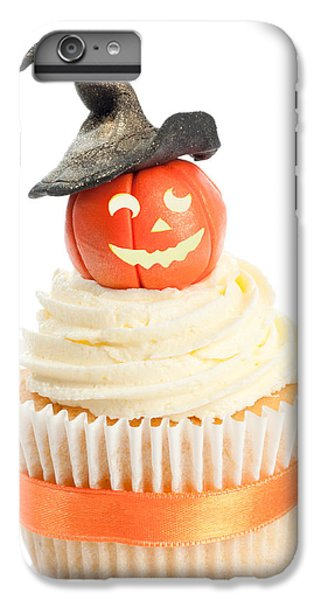 Fairy Cake iPhone 6s Plus Case - Pumpkin With Witches Hat by Amanda Elwell