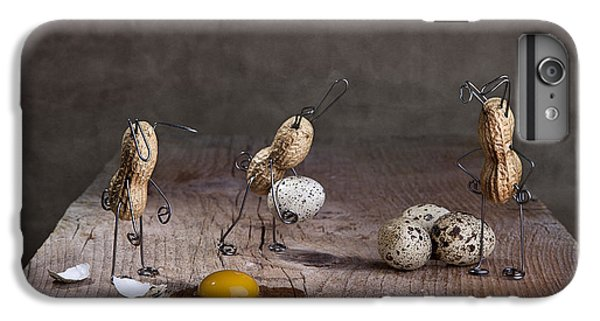 Rabbit iPhone 6s Plus Case - Simple Things Easter 06 by Nailia Schwarz