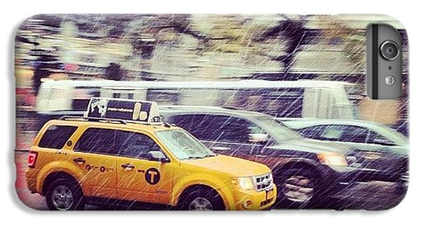 Place iPhone 6s Plus Case - Snow In Nyc by Randy Lemoine