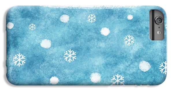 Snow Winter IPhone 6s Plus Case by Setsiri Silapasuwanchai