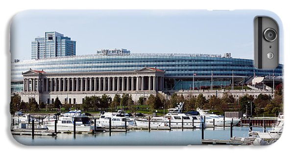 Soldier Field Chicago IPhone 6s Plus Case by Paul Velgos