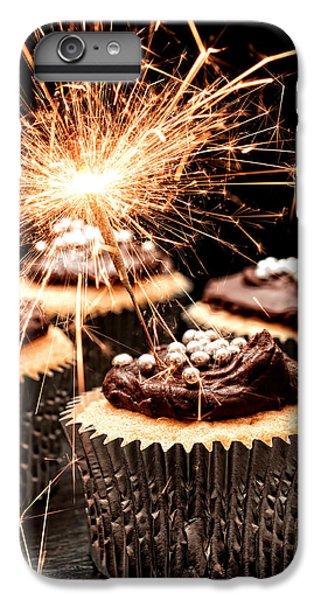 Fairy Cake iPhone 6s Plus Case - Sparkler Cupcakes by Amanda Elwell