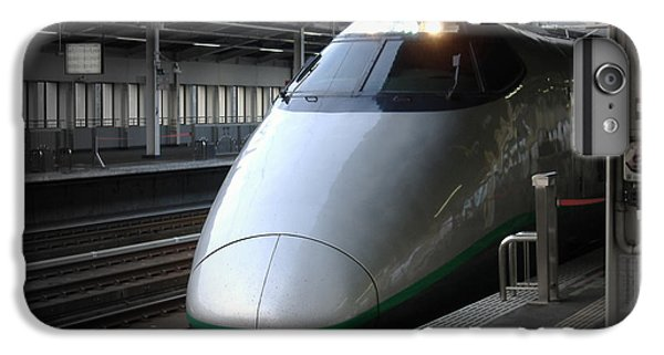 Train iPhone 6s Plus Case - Speed Train by Naxart Studio